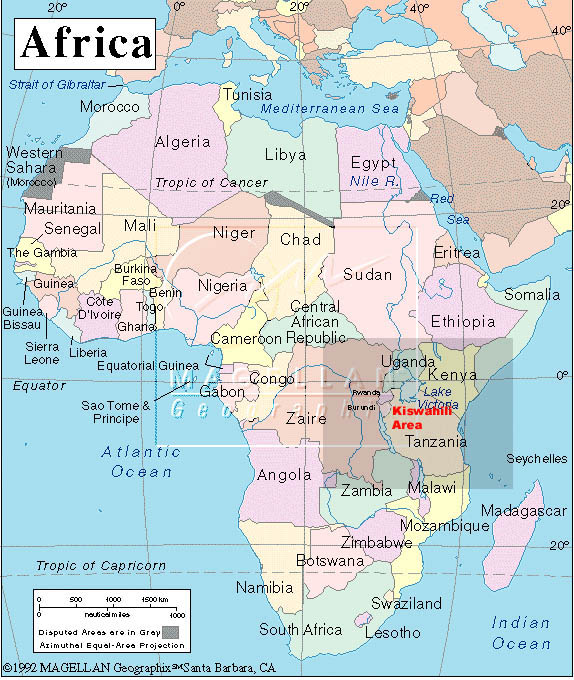 Ubangi River Map Africa Kingwana